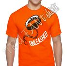 CLEVELAND BROWNS inspired  UNLEASHED T-SHIRT FREE SHIPPING!!!!