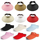 Unisex Men Women Ladies Sun Visor Hat Adjustable Sport Tennis Golf Headband Cap