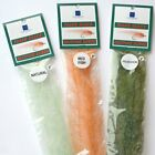 """SF Flash Blend Baitfish Brush Fly Tying 1"""" 2"""" 5"""" - Game Changers Pike Musky"""