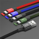 Baseus 4 in1 For IOS/Micro/Type C USB Fast Charging Charger Data Sync Cable Cord