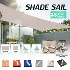Sun Shade Sail Canopy Cover Garden Patio Awning UV Block Screen Waterproof