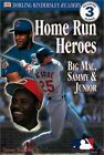 DK READERS: MLB HOME RUN HEROES (LEVEL 3: READING ALONE) - Hardcover *Excellent*