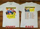 NEW ITEM PRETTYMUCH Fomo Tour 2019 Black-White T-Shirt Boyband Size M-4XL image