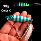 Bass Hook Artificial Jig Metal Slice Lead Casting Fishing Lures Spinning Baits
