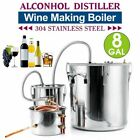 Home Distiller Moonshine Still Stainless Steel Alcohol Oil Brauen 3POT 5/8Gallon