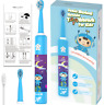 Children Travel Home usb Charging music cleaning Electrical Sonic toothbrush