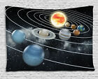 Psychedlic Planet Outer Space Print Tapestry Art Wall Hanging Tapestry Home Deco