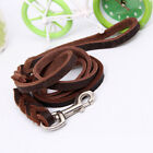 Braided Leather Dog Lead Training Dog Leash Best for German Shepherd TOP Quality