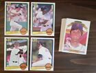 Boston Red Sox Team Sets 1981-1991 You Pick! on Ebay