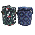 Portable Insulated Thermal Cooler Lunch Box Bento Tote Picnic Storage Bag Wa
