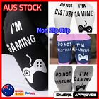 Novelty Gaming Socks DO NOT DISTURB / I'M PLAYING Gamer Video Games AUS
