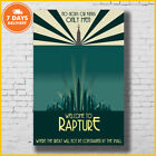 Welcome To Rapture Bioshock Poster No Frame Film Poster Town Big Daddy Poster US