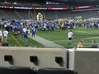 Arizona Cardinals @ New York Giants 10/20 Sec 106 Row 5; 3 tickets near tunnel on eBay