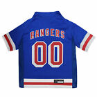 Pets First New York Rangers Dog Jersey $16.99 USD on eBay