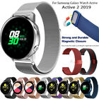 For Samsung Galaxy Watch Active 2 New Magnetic Milanese Loop Strap Bracelet Band image