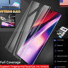 Liquid Screen Protector Samsung Galaxy Note 10+ Plus S10+ UV Glue Tempered Glass