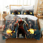 A Strong Body Fire 3D Printing Duvet Quilt Doona Covers Pillow Case Bedding Sets image