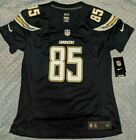 NWT Women's  Nike Antonio Gates Chargers Los Angeles Jersey Sz-S-XL $39.99 USD on eBay