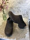 Womens Merrell Luxe Wrap Bitter Chocolate Clog Mules Size  US 9.5M J68662 NEW