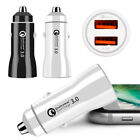 USB Fast Quick CAR Charger Adapter (33W / 5,9,24V / 3.1A) For Android or iPhone