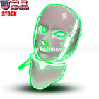 7 Colors LED Light Therapy Facial Mack with Neck Mask Skin Rejuvenation Anti-age
