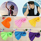 Ice Cold Sports Yoga Outdoor Gym Instant Cooling Towel Chilly Enduring Jogging image