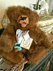 """VINTAGE KIMBEARLY'S ORIGINALS TEDDY BEAR CHRISTOPHER 12"""" JOINTED WITH PACIFER CU"""