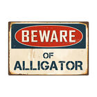 BEWARE Of Metal Sign Flag Plaque Bar Club Cafe Home Garage Wall Decor Art Iron V