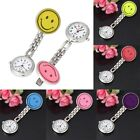 Cute Smile Face Nurse Clip-on Fob Brooch Pendant Hanging Watch Pockets Watch CA image