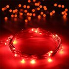 2-10M LED Firefly Fairy String Lights Battery Copper Wire Wedding Bedroom Party