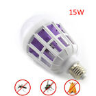 LED Bulb electric Anti-Mosquito Insect Zapper Fly Moth Killer E27 15W Light lamp