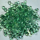 100%NATURAL AFRICAN GREEN FLUORITE 8 mm to 10 mm  ROUND CABOCHON LOOSE GEMSTONE