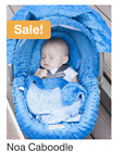 Original Whole Caboodle Carseat Canopy 5 piece Set Baby Infant Car Seat