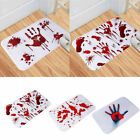 Blood Horror Footprint Bath Mat Door Mat Scary Halloween Style Home Decor Mat