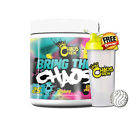Chaos Crew Bring The Chaos Muscle Pump Energy Focus Pre Workout 25 Serves
