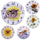 MDF Creative Wall Clock Silent Art Wall Clock Living Room Decoration New Design