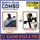 Xiaomi M365 & PRO GoPro Dual Supports AV et AR - Dual Go Pro Action Cam Brackets