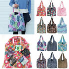 Reusable Foldable Polyester Storage Travel Shopping Tote Grocery Portable Bag