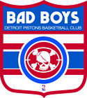 Detroit Pistons Shield  Logo Vinyl Decal / Sticker 2 Inches to 48 Inches!! on eBay