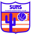 Phoenix Suns Shield Logo Vinyl Decal / Sticker 2 Inches to 48 Inches!! on eBay