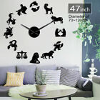 Zodiac Signs Wall Art Stickers Exclusive Clock Constellation DIY Giant Clock