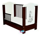 "BABY COT WITH DRAWER ""PATI"" /COT FOR BABY / JUNIOR BED VENGE/WHITE + MATTRESS"