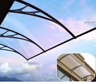 TECHTONGDA Transparent Polycarbonate Awning Patio Canopy For Window & Door
