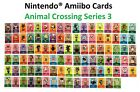 Individual Animal Crossing Amiibo Cards - Series 3 (#201-300)[US Ver.] YOU PICK!