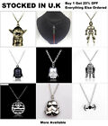 Star Wars Pendant Necklace Jewellery Death Star Darth Vader Stormtrooper Yoda $6.22 USD on eBay