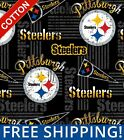 """Pittsburgh Steelers NFL Cotton Fabric - 60"""" Wide - Style# 14450 - Free Shipping! $15.95 USD on eBay"""