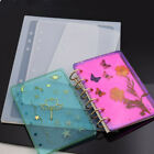 DIY Notebook Cover Silicone Mold Handmade Craft Making Mould Stencil Template