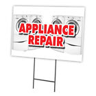 APPLIANCE REPAIR Yard Sign & Stake outdoor plastic coroplast window photo