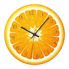 12 '' Nordic Style Fruit Wall Clock Silent DIY Children Room Home Decor