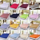 Awesome Egyptian Cotton 1000tc 1 PC Fitted Sheet Queen Size Solid Colors image